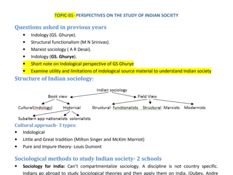 Tusharanshu Sociology Notes PDF Part 2 DownloadTusharanshu Sociology Notes PDF Part 2 Download