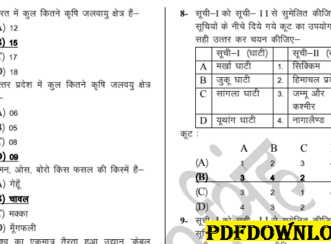 GK Important Question Answer For All Govt Exams